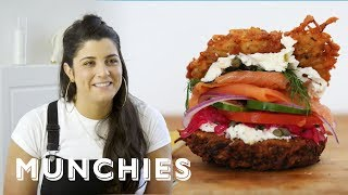 Latke Sandwiches and Matzo Ball Shooters: Hangover Oasis with Lady Lovin'