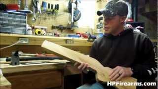 How To Make A Gun Stock Blank By HPFirearms