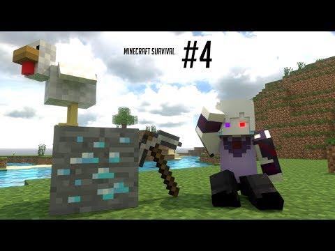BERHASIL DAPET DIAMOND!!! Minecraft Survival #4