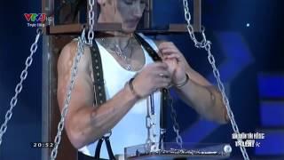 Vietnam's Got Talent: Ảo thuật gia hàng đầu thế giới Paul Cosentino - Màn 3 [FULL HD]