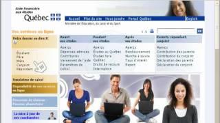 Capsule - Aide financière aux études - Québec