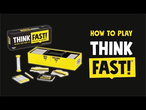 Youtube Video for Think Fast! Awesome Trivia Game