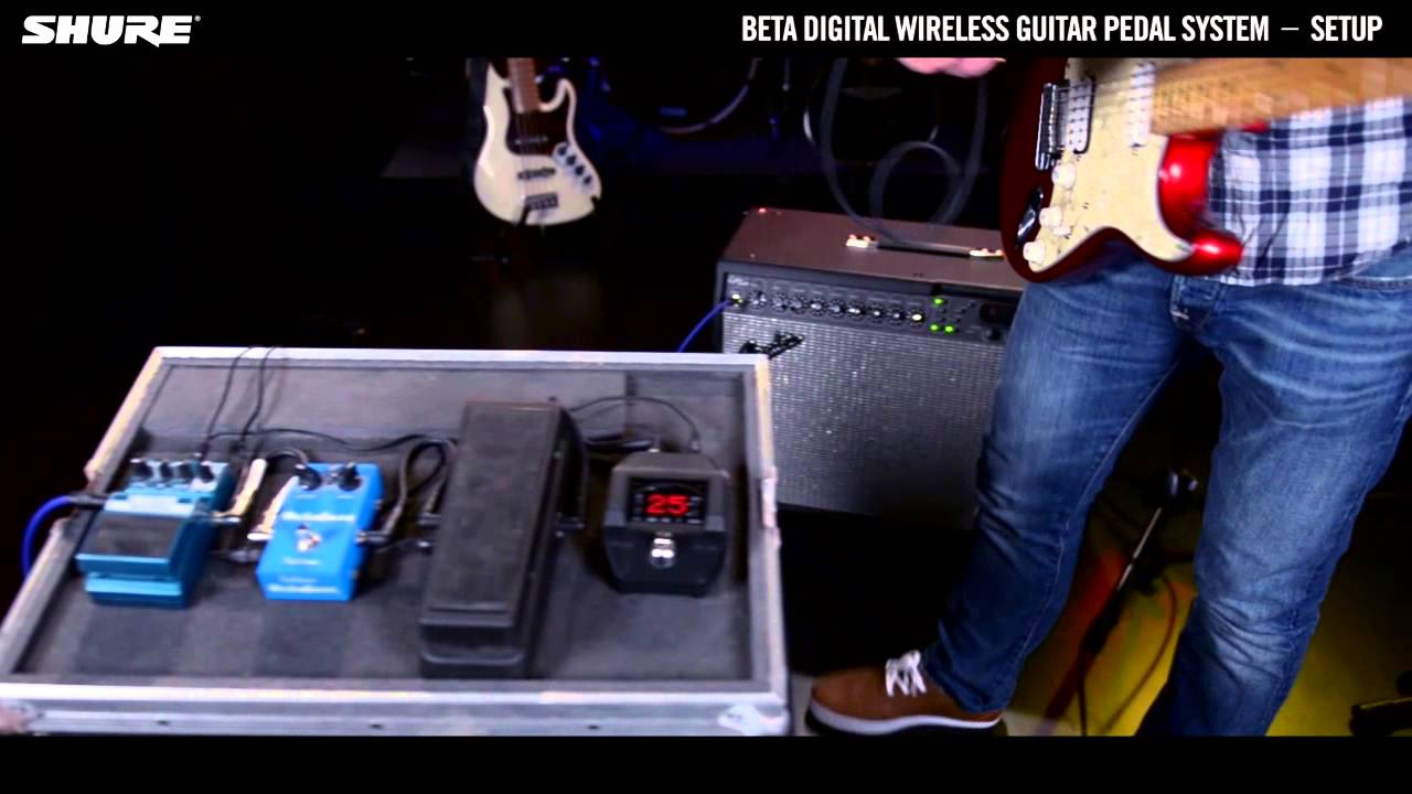 Shure Beta Digital Wireless Guitar System: Basic Setup