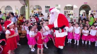 Christmas 2016- Ông già Noen xuất hiện tại Trường Mầm non Tiểu học Hoa Sen Ninh Thuận