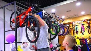 Вот так покатались с мамой...Чем закончились ПОКАТУХИ???Riding a bicycle. An unsuccessful day!