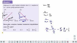 Eğitim Vadisi 9.Sınıf Fizik 10.Föy Hareket-İvme 1 Konu Anlatım Videoları