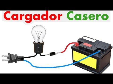 Como cargar la batería de tu auto en tu casa, muy fácil de hacer!