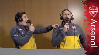Download Video Hector Bellerin and David Ospina | UnClassic Commentary MP3 3GP MP4