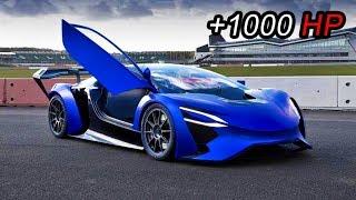 7 Increíbles autos super deportivos híbridos y eléctricos