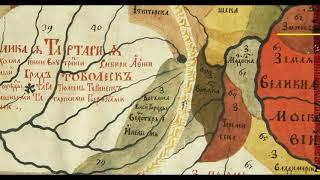 карты россии 1711 и 1700 годов