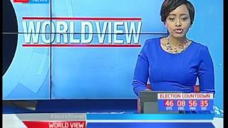 President Uhuru addresses crowd at Kiamariga, on day 2 of Jubilee's Central tour