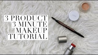 3 Products, 3 Minute Every Day Makeup Tutorial   Aja Dang