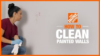 How to Clean Painted Walls | The Home Depot