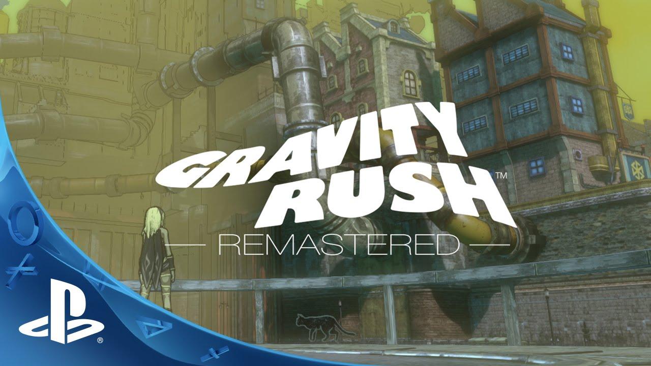 Gravity Rush Remastered Anunciado para PS4