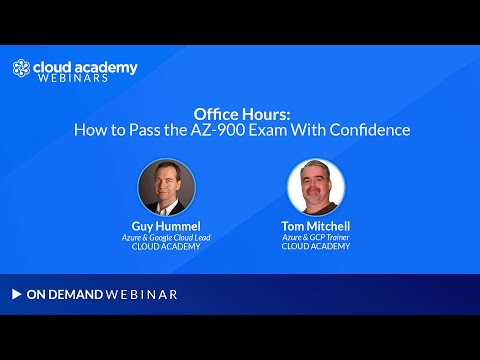 Office Hours: How to Pass the AZ-900 Exam With Confidence ...