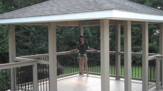 Building Backyard Deck And Gazebo.