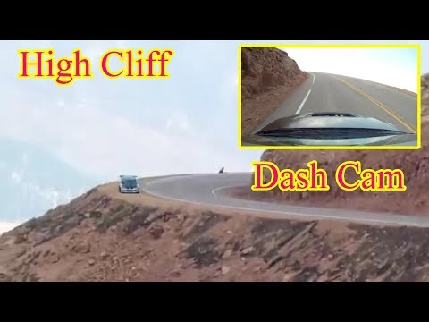 What Does DRIVING OFF A CLIFF Look Like?! Crazy Car Crash Dash Cam Footage. Car Driving Off A Cliff