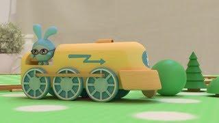 Малышарики - Новые серии - Паровозики (Серия 103) Развивающие мультики для самых маленьких