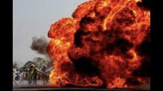 """Breaking News: """"Pakistan Oil Tanker Explodes 123 Dead 100 Injured"""""""