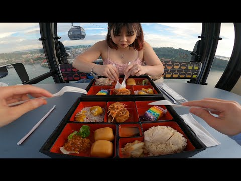 Interesting: They Have A Cable Car Restaurant In Singapore
