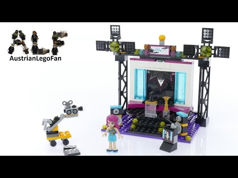 Vidéo LEGO Friends 41117 : Le plateau TV Pop Star