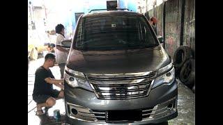 Modifikasi / Upgrade Nissan Serena C26 2013 HWS Menjadi Autech 2015 (barang Barunya Mahal!)