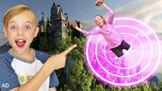Magic Portal to Find Secret Treasure X! Battle of the New Fire Vs Ice!