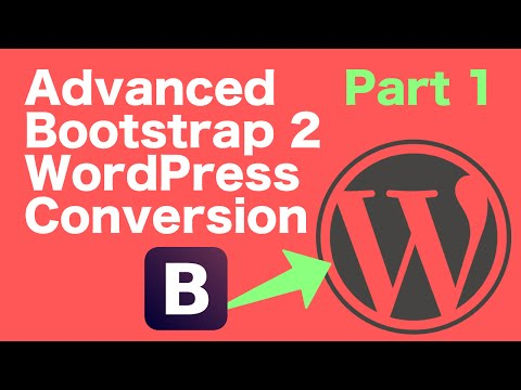 Advanced Bootstrap to WordPress - Part 1 - Setup