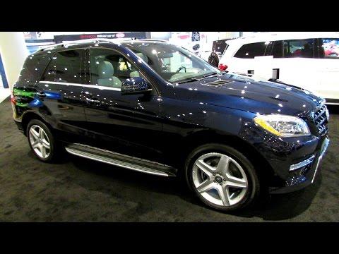 2014 Mercedes-Benz M-Class ML350 4Matic - Exterior and Interior Walkaround - 2014 New York Auto Show