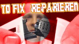 Tritton Headset Bügelbruch mit Pappmache reparieren TornadoSTREAM