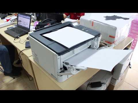 Cài đặt kết nối máy in A3 Canon LBP8730i với máy tính (driver tiếng Nhật)