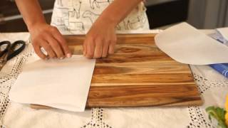 How To Make A Parchment Paper Bag : Mediterranean & Other World Recipes