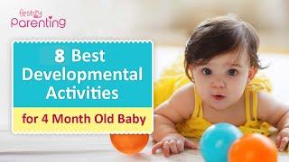 Best Developmental Activities for 4-Month-Old Babies
