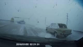 ДТП Астана . Астана Бурабай авария 04.12.2016
