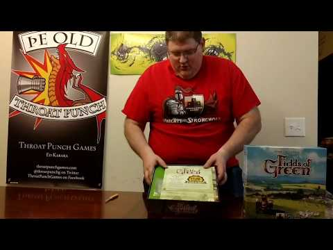 Fields of Green Unboxing, How to Play, and Review