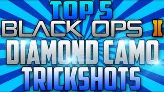 BO2 Trickshots #3 (INSANE Top 5 Diamond Camo Trickshots)