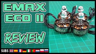 EMAX ECO II - Motor Review & Thrust Test (RCBM 1520)