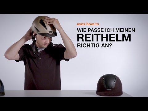 Wie passe ich meinen Reithelm richtig an? // uvex how-to