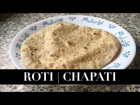 VEGETARIAN Punjabi Roti   Chapati Made Easy Recipe   ਕਣਕ ਦੀ ਰੋਟੀ   कनक का रोटी 4K 😋