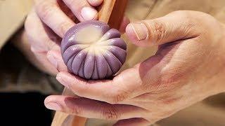Nhật Bản kẹo nghệ thuật - Bánh trôi truyên thông và trà xanh Tokyo