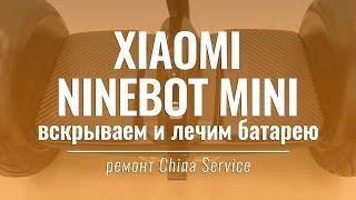 Ремонт гироскутера Xiaomi Ninebot Mini | China Service