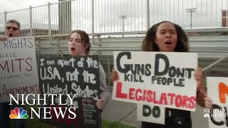 Students Seize Control Of Gun Debate, Plan Walkouts And March | NBC Nightly News