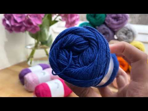 Rainbow Cotton 8/4 - Baby Purple (067) | Farge