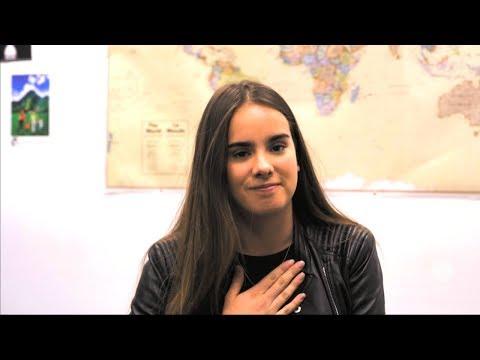 ¡Gala Montes tiene un mensaje para todos aquellos que quieren estudiar en el extranjero!