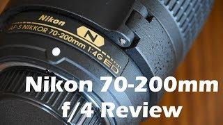 Nikon AF-S 70-200mm f/4 Review
