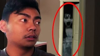 Top 5 Youtubers Who CAUGHT GHOSTS In Their Videos! Part 2 (Guava Juice, Angry Grandpa & More)