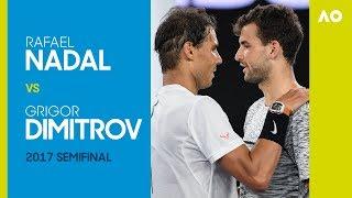 Rafael Nadal v Grigor Dimitrov - Australian Open 2017 Semifinal | AO Classics