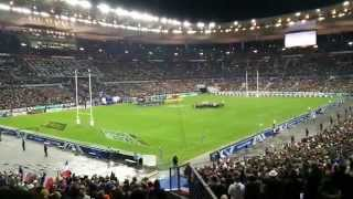 Match de rugby France-Australie