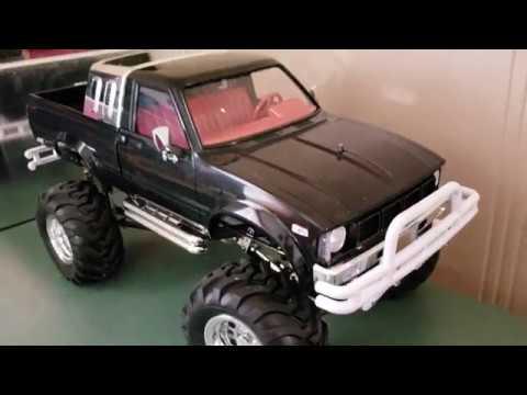 HG P407 1/10 TOYATO Metal 4X4 Pickup Truck Rock Crawler RTR