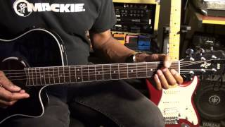 The Doors RIDERS ON THE STORM Easy Acoustic Guitar Lesson EricBlackmonGuitar